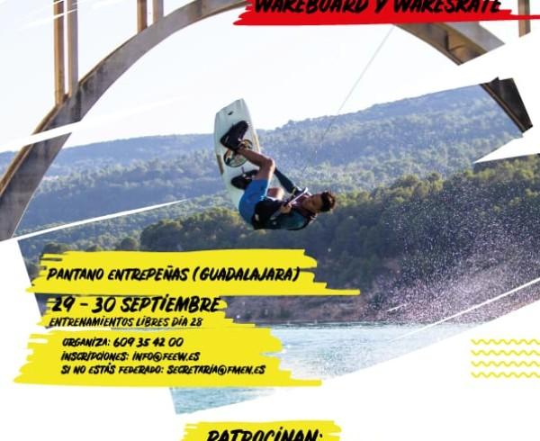 Campeonato de España de wakeboard 2018